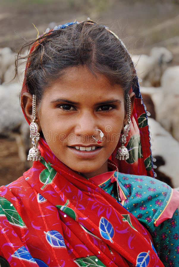 Adolescent  Girl in India