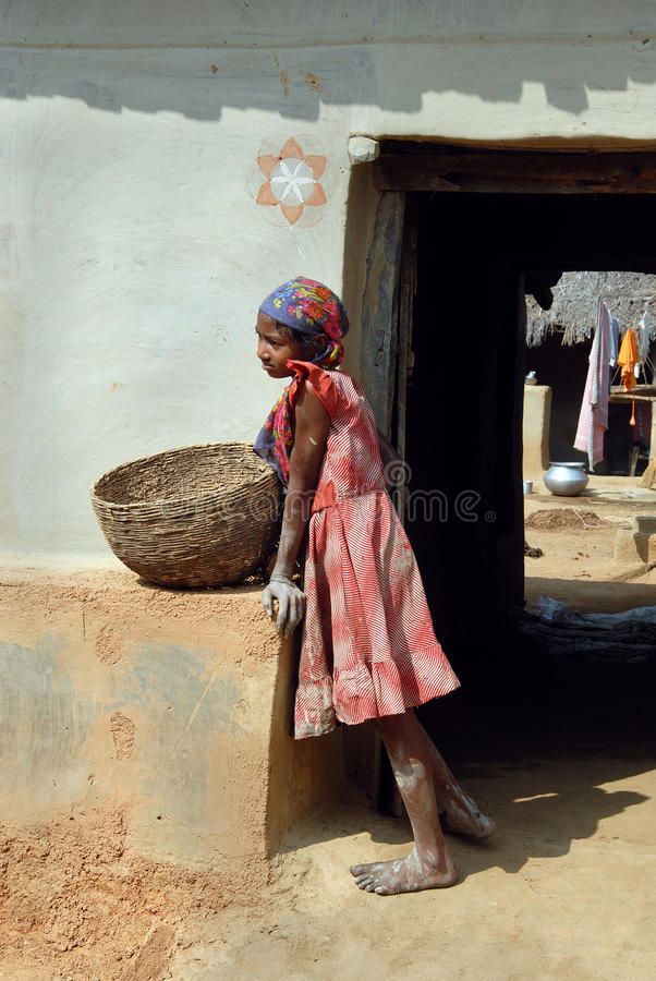 Download Adolescent Girl In Rural India Editorial Stock Image - Image: 21896164