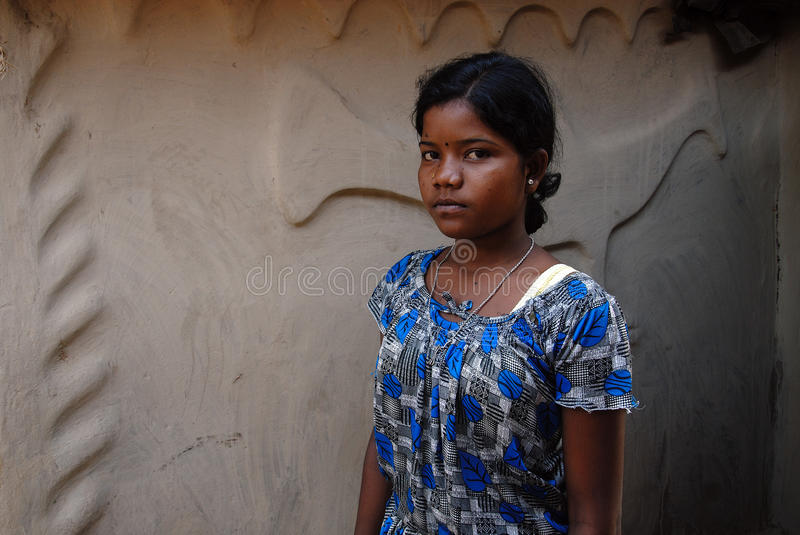 Download Adolescent Girl In Rural India Editorial Photo - Image: 21905981