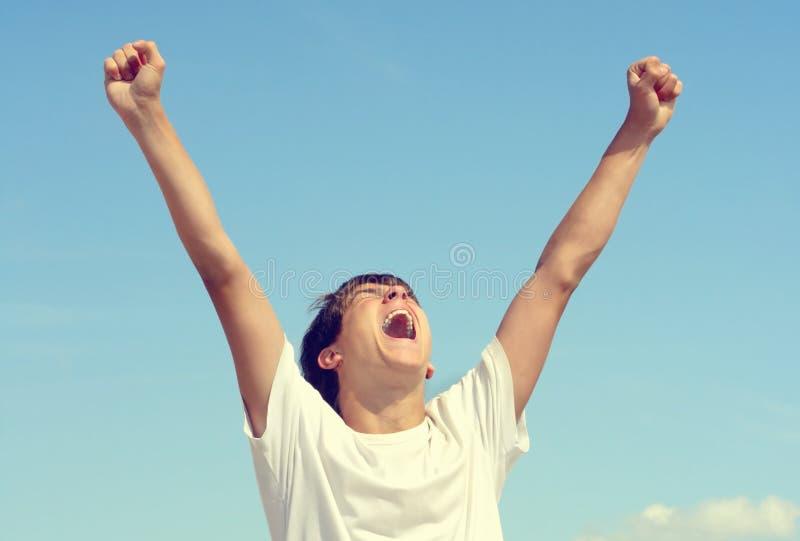 Download Adolescent heureux image stock. Image du expression, nature - 56484387