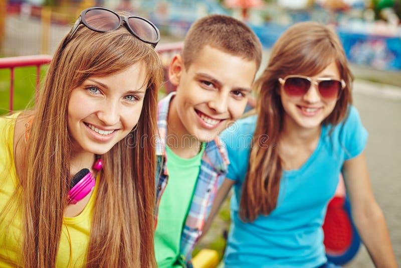 Adolescent mignon photo stock