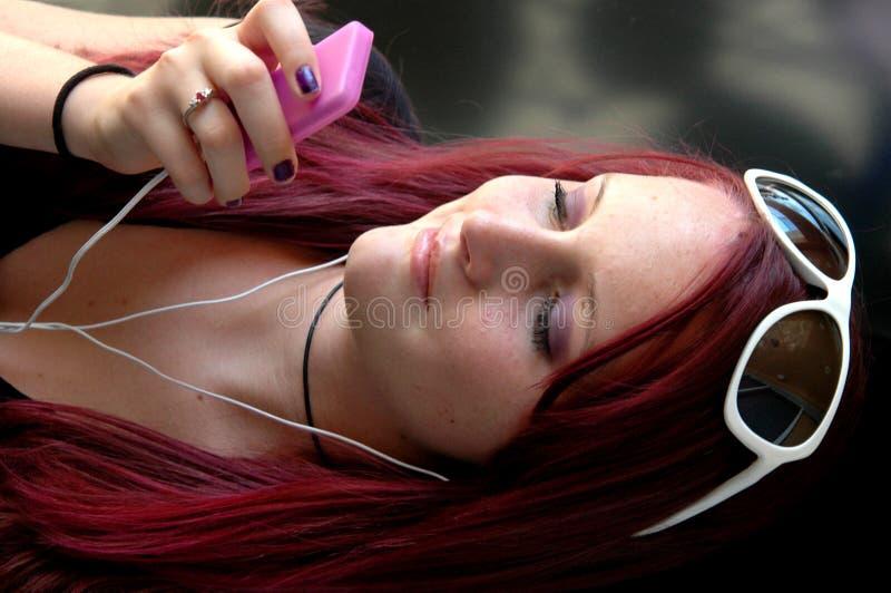 Adolescent pourpré photo libre de droits