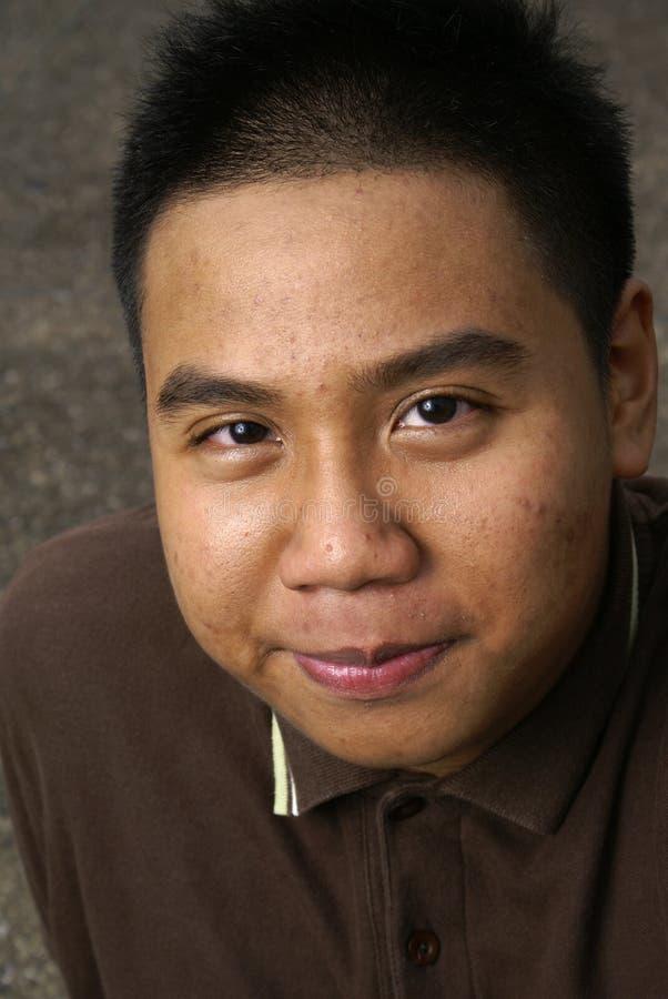 Adolescente étnico del malay fotos de archivo libres de regalías