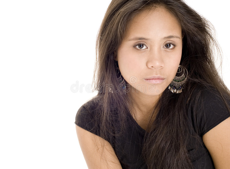 Adolescente 17 fotografia stock libera da diritti