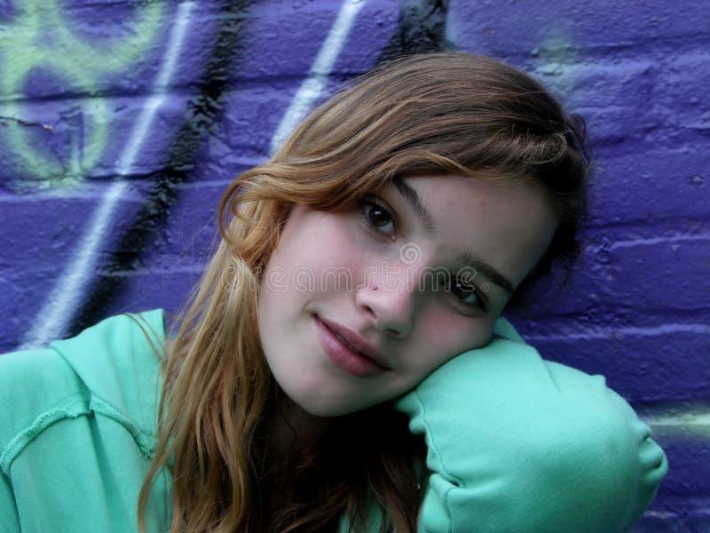 Adolescente. foto de archivo