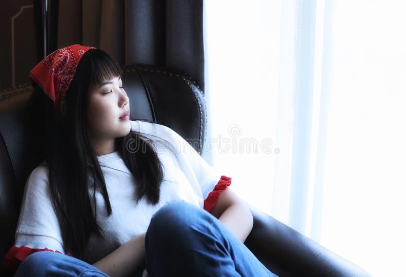 Adolescente adormecido imagens de stock