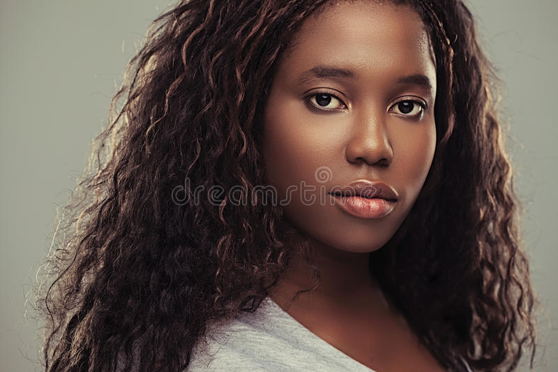 Adolescente africano foto de archivo