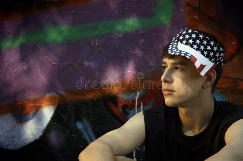 Adolescente americano imagens de stock