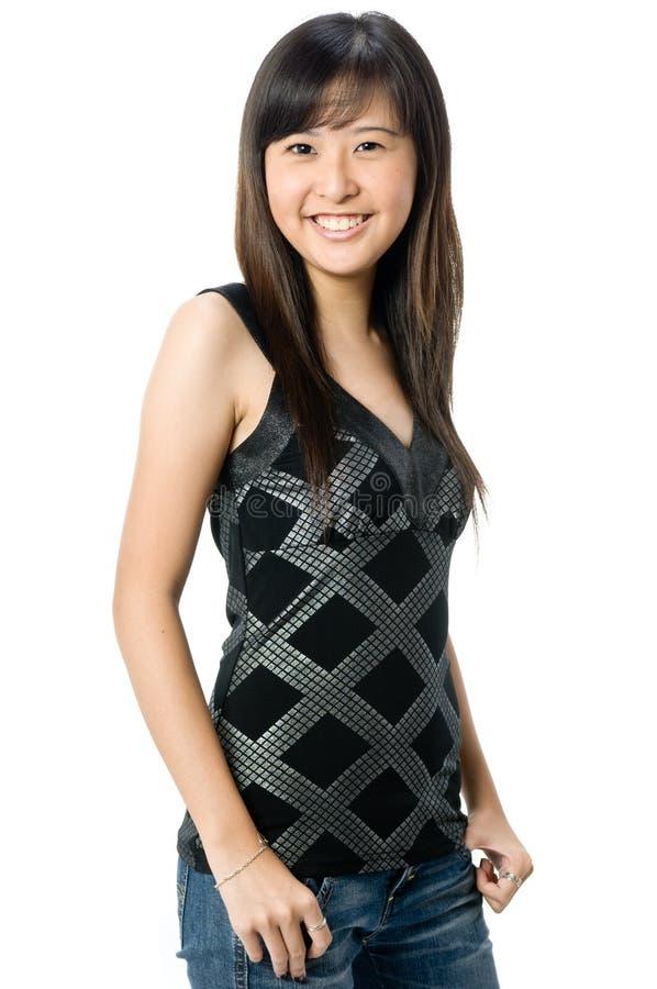 Adolescente asiatico fotografie stock