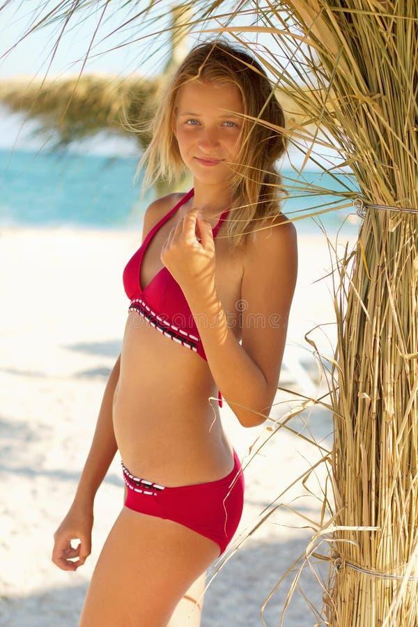Adolescente attirante photographie stock