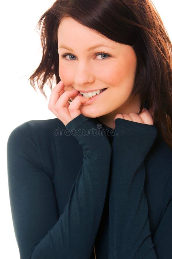 Adolescente bonito foto de stock