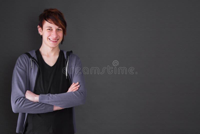 Adolescente com perfuração fotos de stock