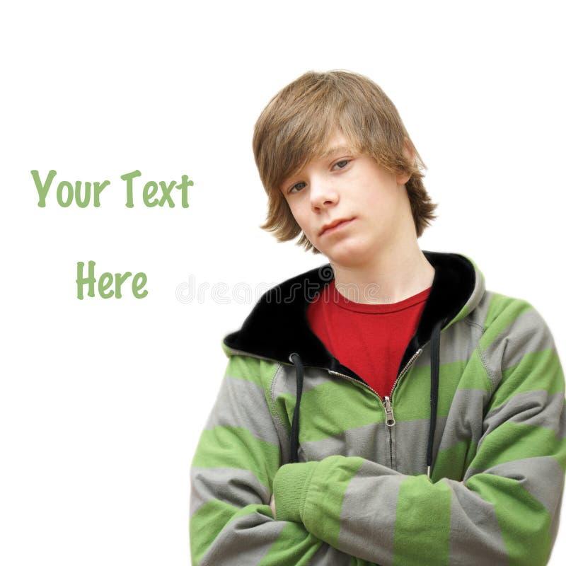 Adolescente con estilo foto de archivo libre de regalías