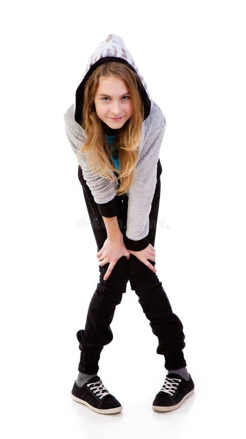 Adolescente da menina imagens de stock