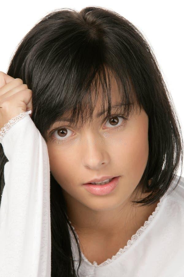 Adolescente de beauté images libres de droits