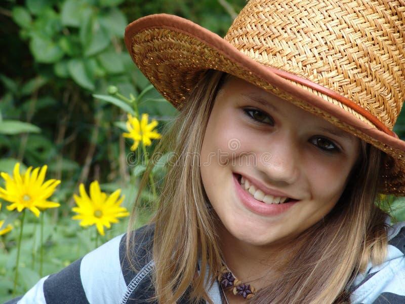 Adolescente del verano imagen de archivo libre de regalías