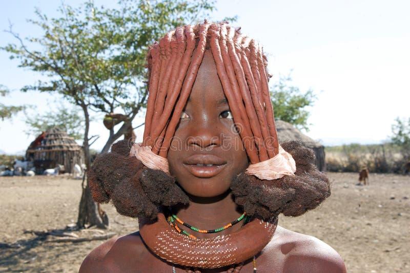 Adolescente di Himba immagine stock