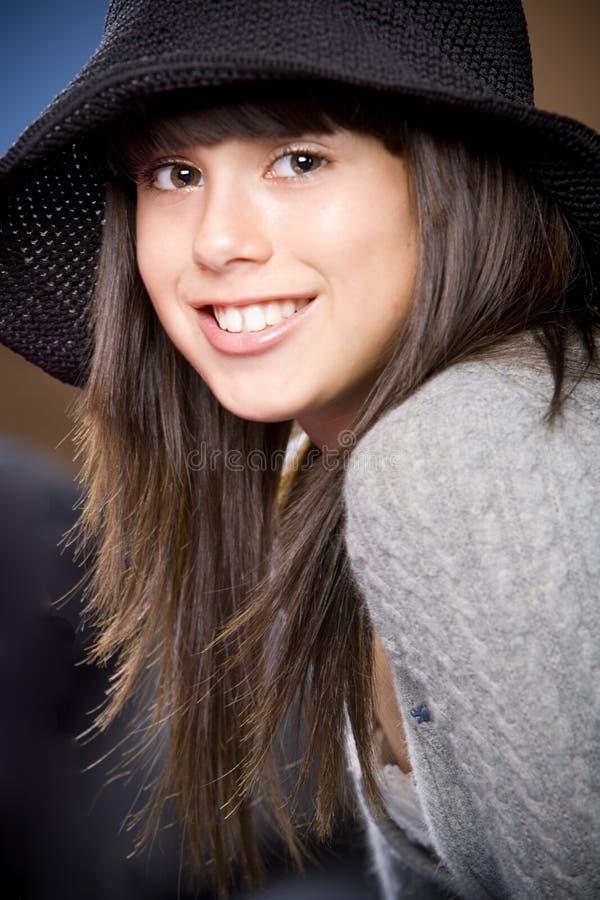 Adolescente di PERT & sveglio fotografie stock