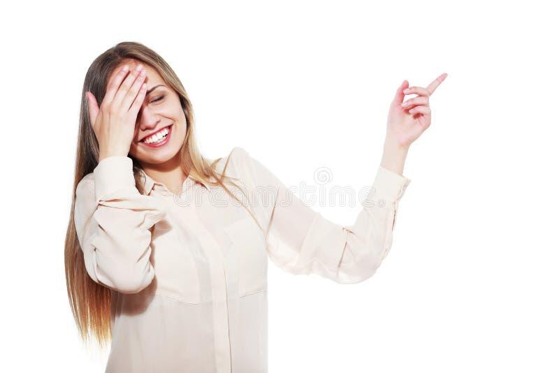 Adolescente di risata immagini stock