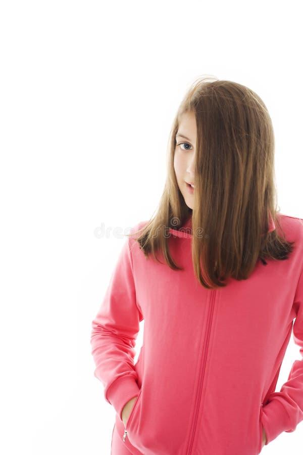 Adolescente fêmea bonito novo imagens de stock royalty free