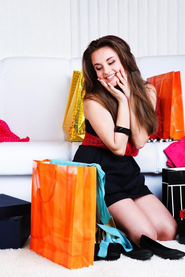 Adolescente feliz foto de stock royalty free