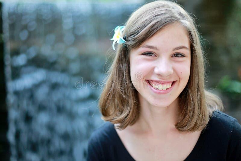 Adolescente feliz imagens de stock royalty free