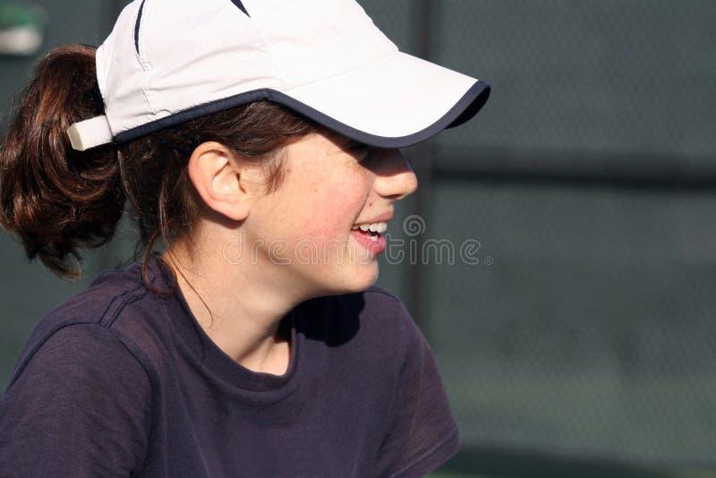 Adolescente feliz fotografia de stock