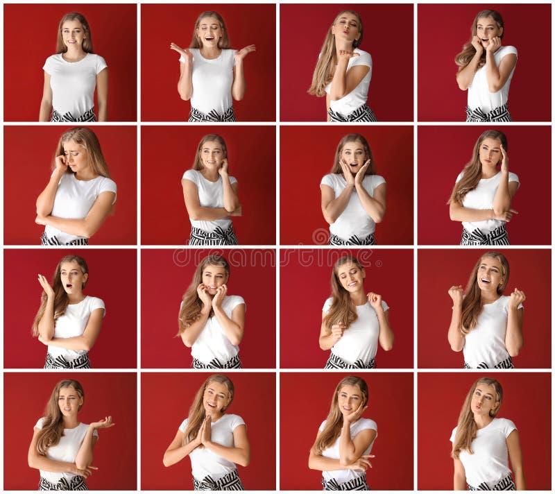 Adolescente incomodado no fundo branco imagens de stock royalty free