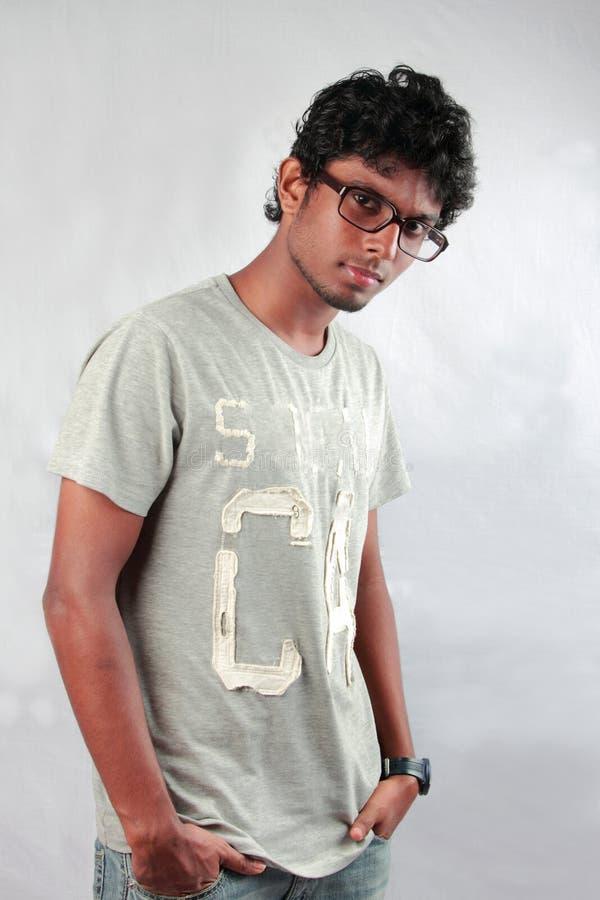 Adolescente indio joven imagenes de archivo