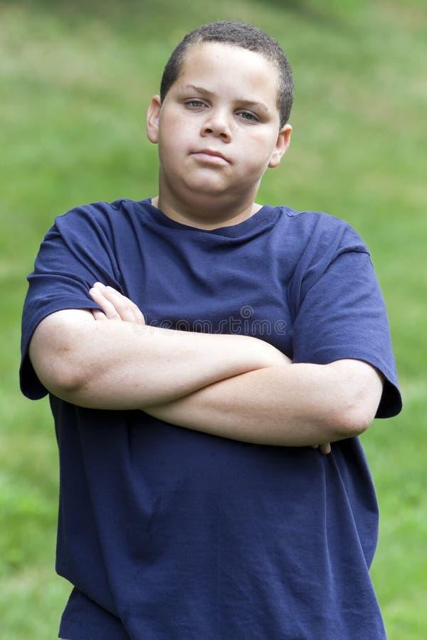 Adolescente irritado imagens de stock