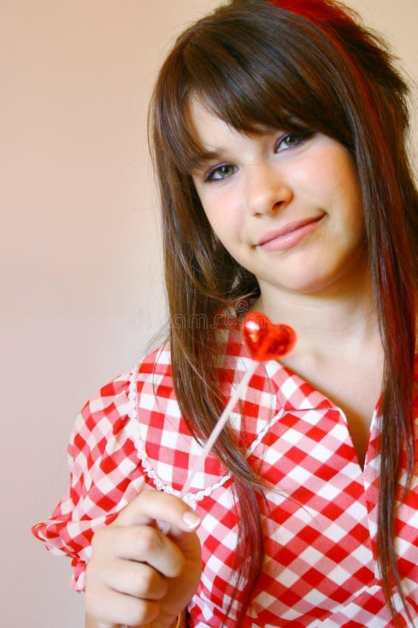 Adolescente joven foto de archivo libre de regalías