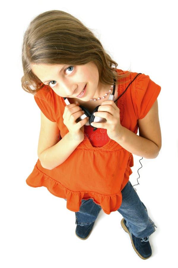 Download Adolescente lindo imagen de archivo. Imagen de headset - 7287019