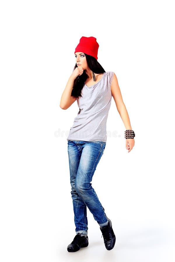 Adolescente moderno imagem de stock