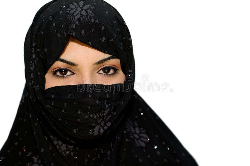 Adolescente muçulmano asiático sul fotos de stock royalty free