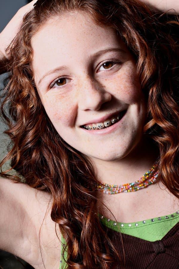 Adolescente novo fotografia de stock