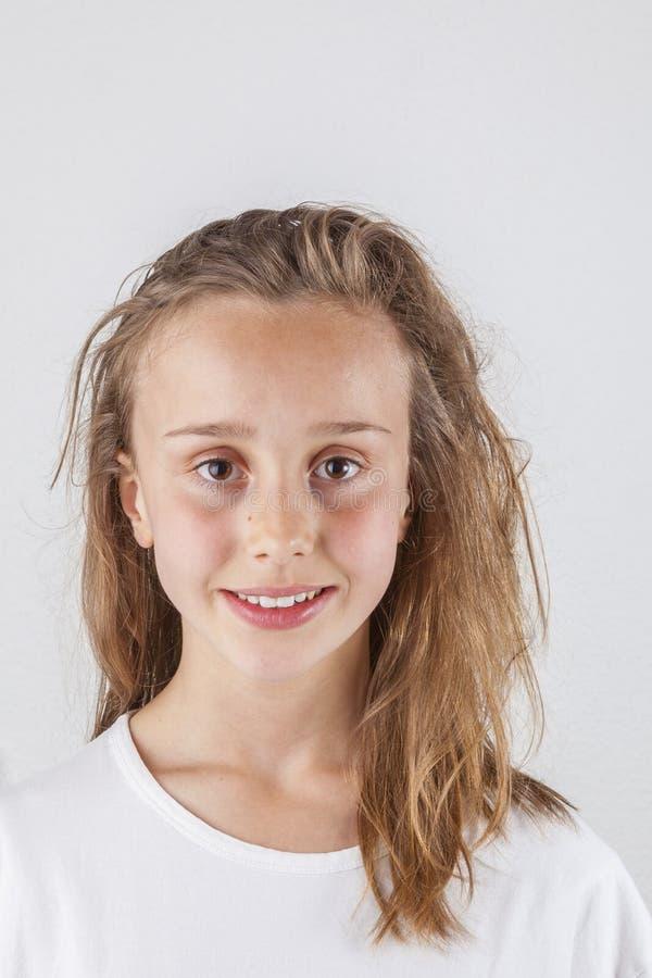 Adolescente novo bonito fotos de stock royalty free