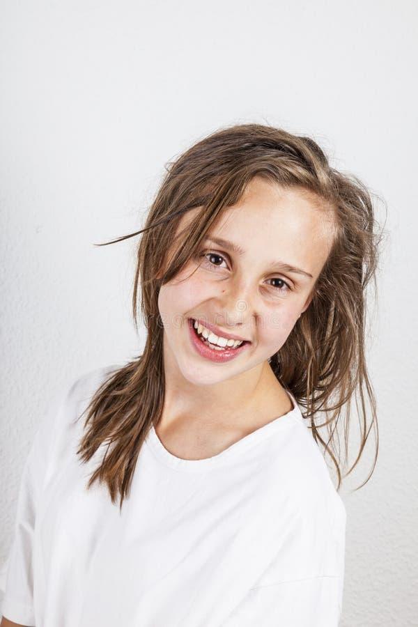 Adolescente novo bonito fotos de stock