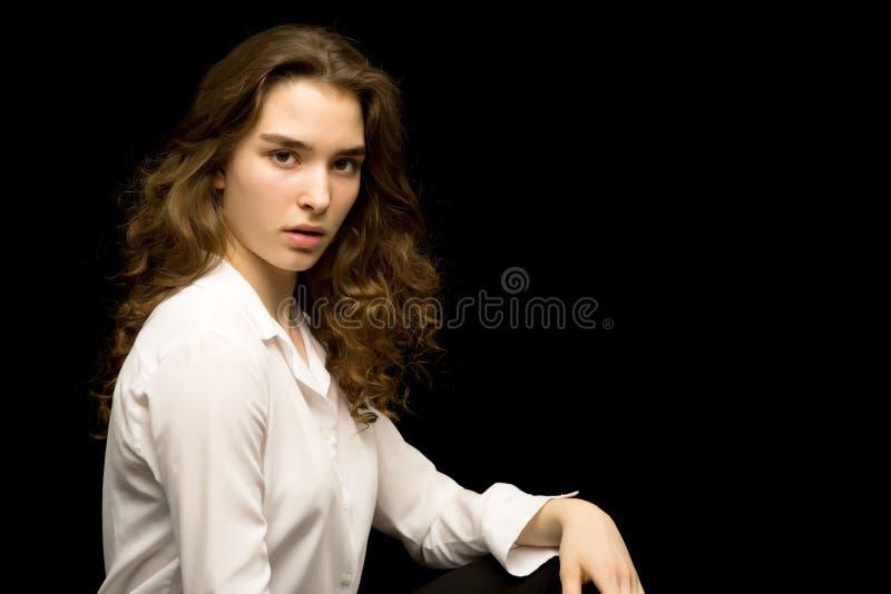 Adolescente, photo de studio photos libres de droits