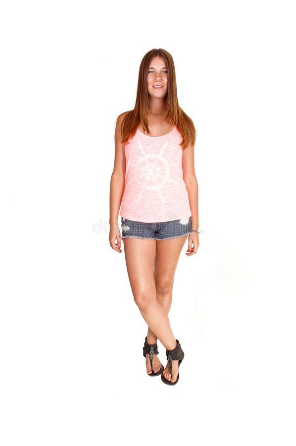 Adolescente Relaxed. imagem de stock