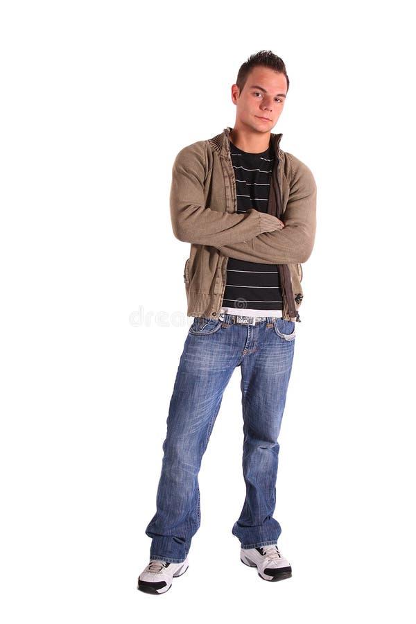 Adolescente Relaxed fotografia stock