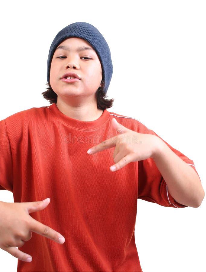 Adolescente (séries) Imagens de Stock Royalty Free