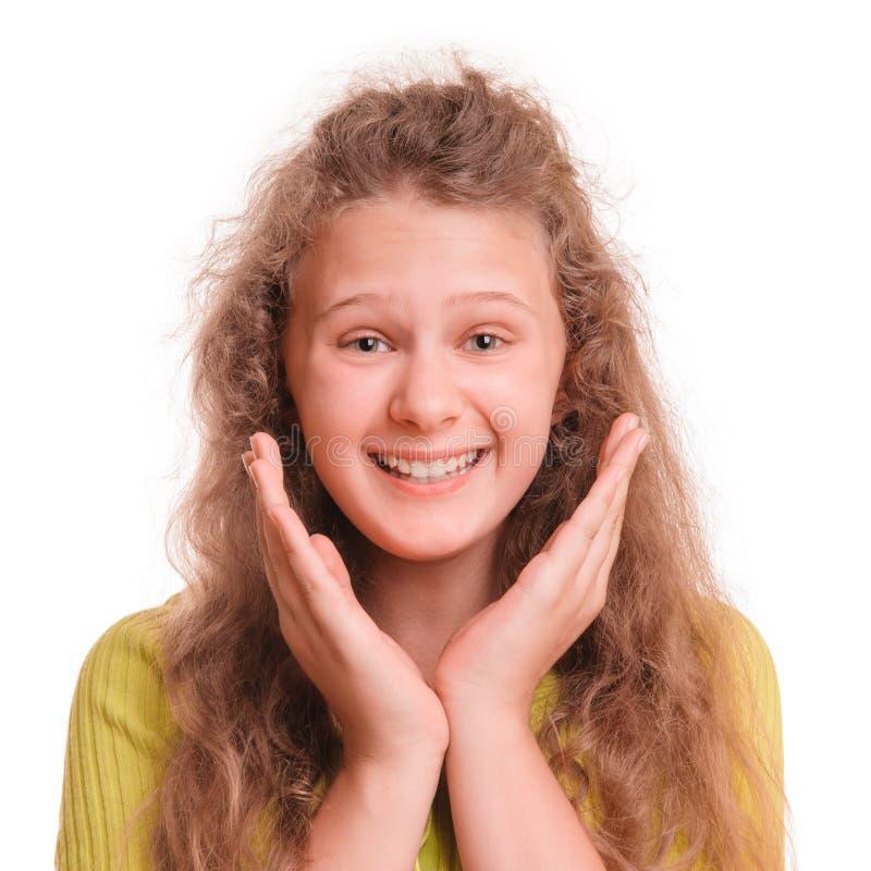 Adolescente sorridente immagine stock