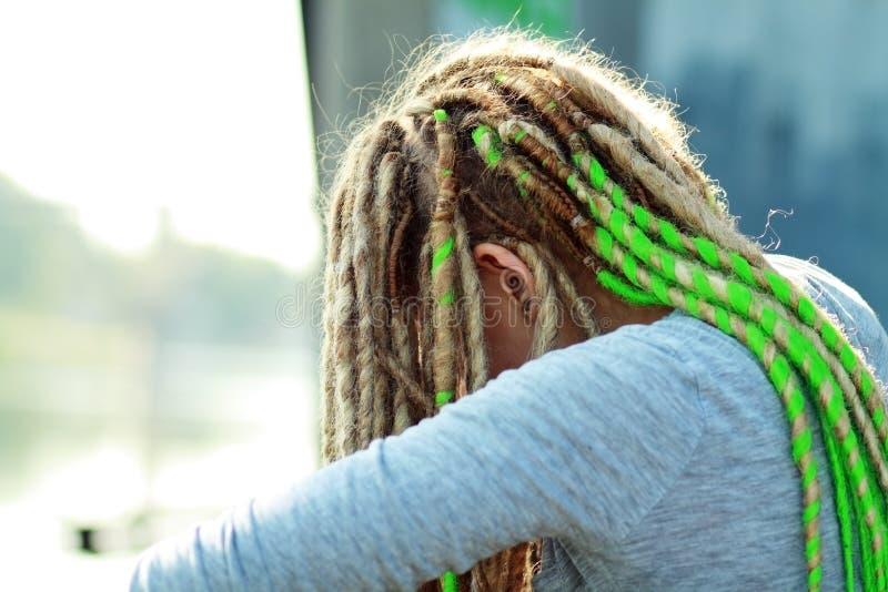 Adolescente triste photo libre de droits
