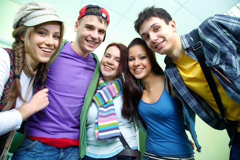 Adolescentes foto de stock
