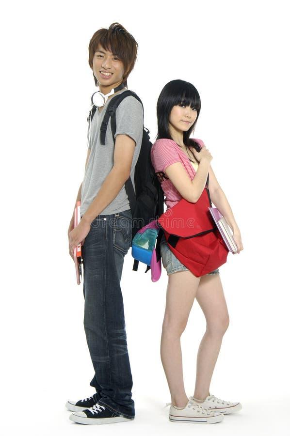 Adolescentes asiáticos foto de stock royalty free