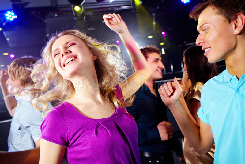 Adolescentes ativos fotografia de stock royalty free