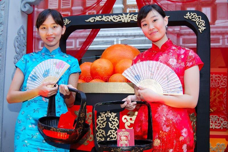 Adolescentes chineses novos imagens de stock