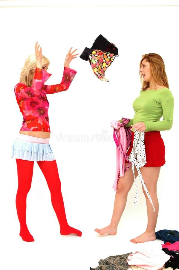Adolescentes coloridos 1 fotografia de stock