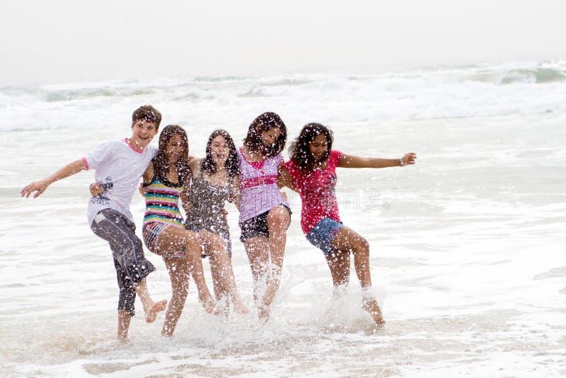 Adolescentes felizes fotos de stock royalty free