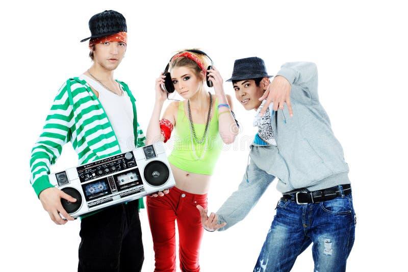Adolescentes na moda imagem de stock